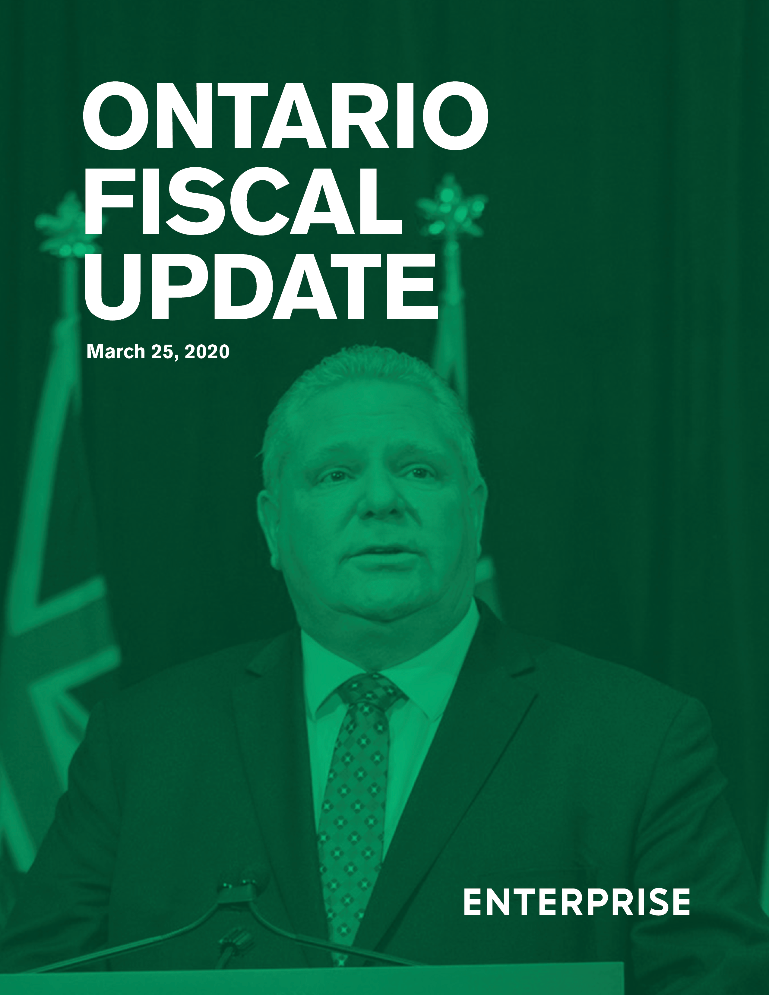 Ontario Fiscal Update 2020