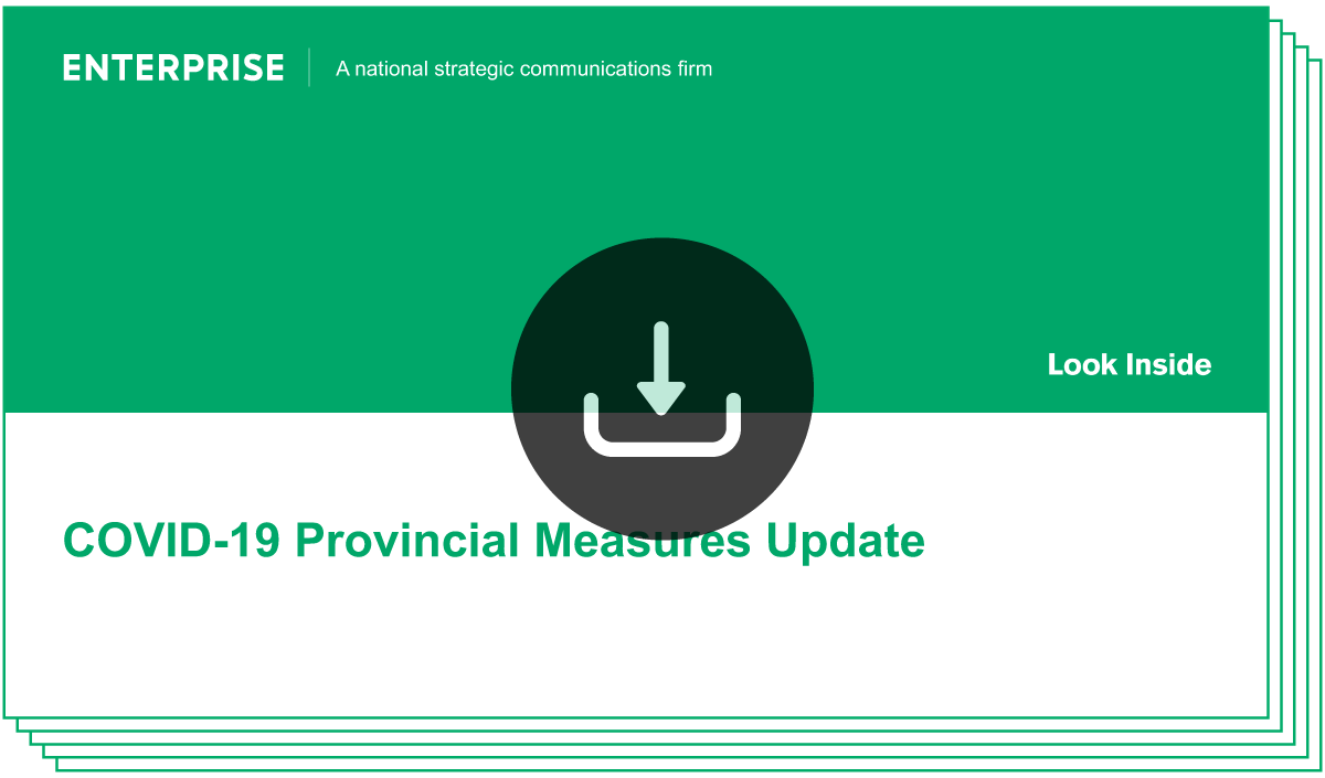 Download/View COVID-19 Provincial Measures Update Report