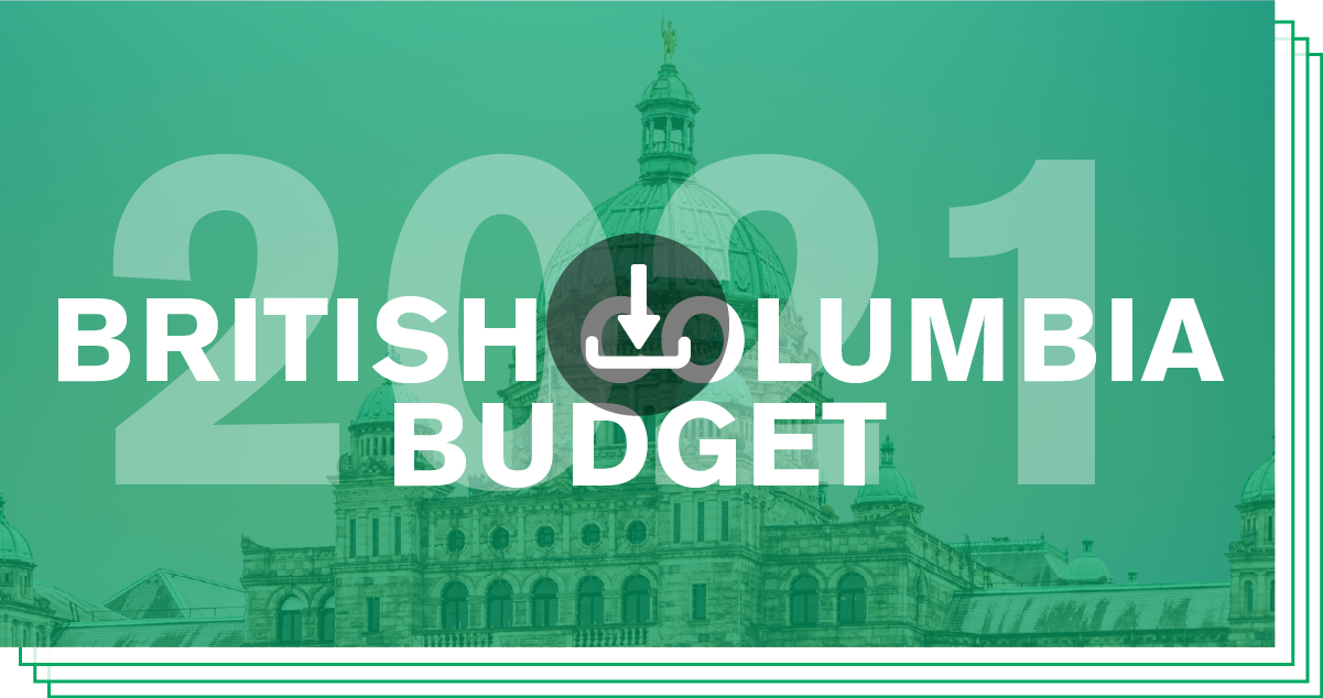 Download/View British Columbia Budget 2021