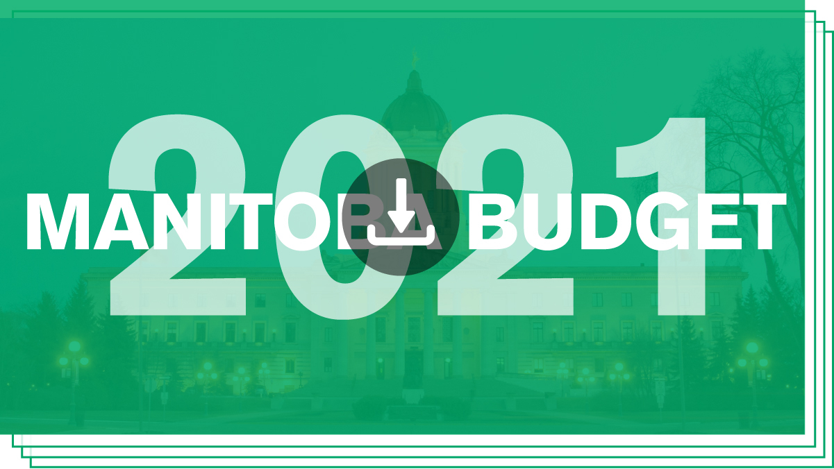 Download/View Manitoba Budget 2021