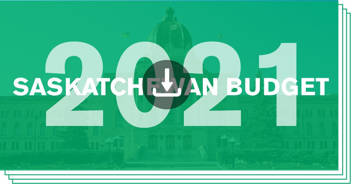 Download/View Saskatchewan Budget 2021